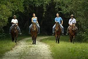 Horseback Riding, Chan Chich