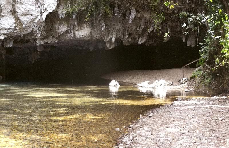Jaguar Paw Cave Entrance