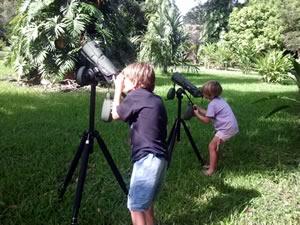 Kids Bird Watching