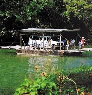 Mopan River Ferry