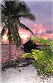 Resort at Sunset