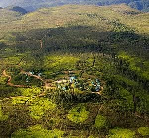 Aerial View of Hidden Valley