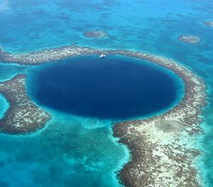 Blue Hole Arial