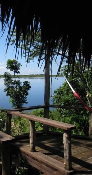 Lamanai lagoon View