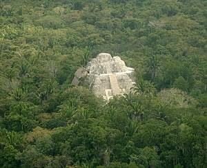 Lamanai Mayan Temple