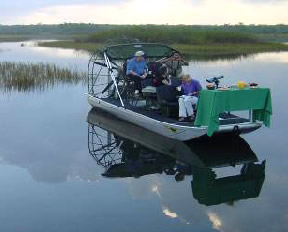 Airboat Picnic
