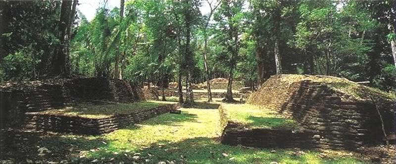Lubantun Mayan Site