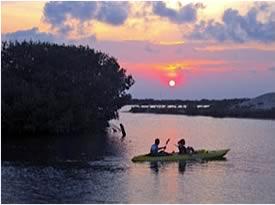 Placencia Lagoon Kayaking