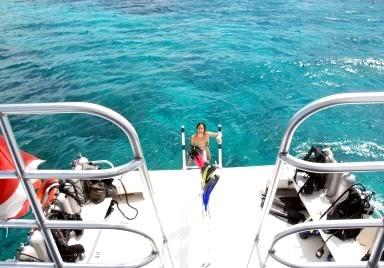 Snorkeling at Turneffe