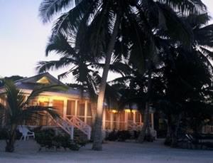Turneffe Resort Beach Cabanas