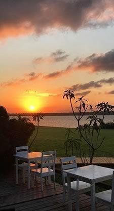 Lagoon Side Sunset