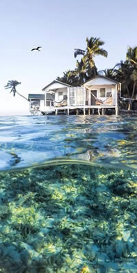 Tobacco Caye Paradise Lodge