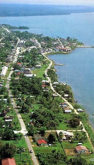 Punta Gordia Town, Belize