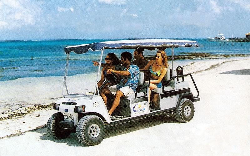 Island Golf Cart