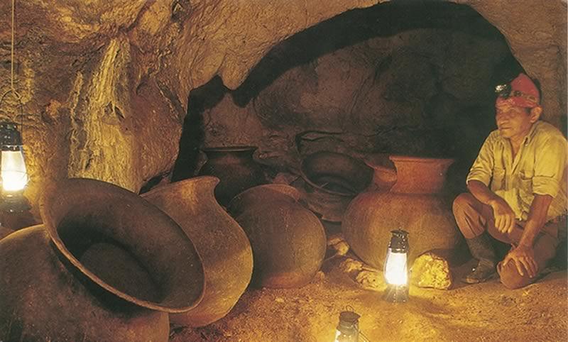 Mayan Archelogical Cave
