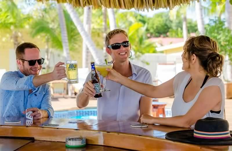 Cheers at Turneffe Resort
