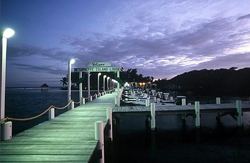 Turneffe Pier